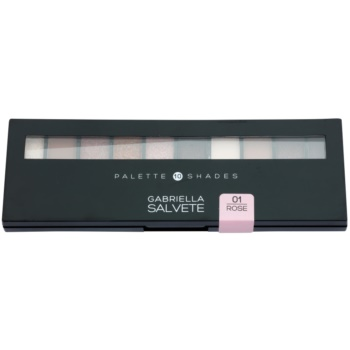 Gabriella Salvete Palette 10 Shades paleta de sombras  com espelho e aplicador 1