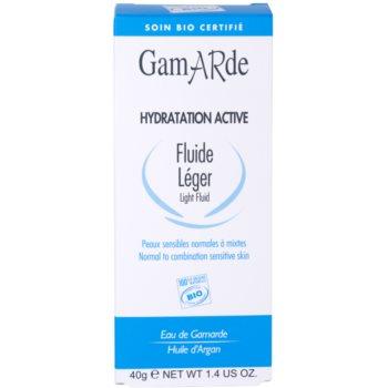 Gamarde Hydratation Active lekki fluid nawilżający do cery normalnej i mieszanej 3