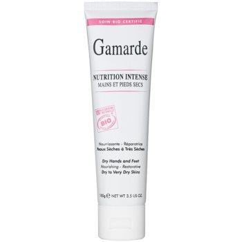 Gamarde Nutrition Intense creme regenerador intenso para mãos e pés para pele seca a muito seca