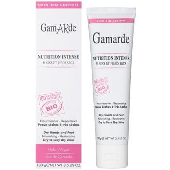 Gamarde Nutrition Intense creme regenerador intenso para mãos e pés para pele seca a muito seca 1