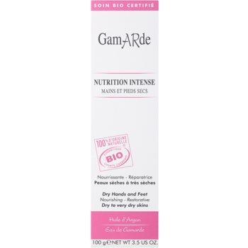 Gamarde Nutrition Intense creme regenerador intenso para mãos e pés para pele seca a muito seca 2