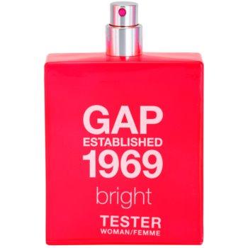 Gap Gap Established 1969 Bright woda toaletowa tester dla kobiet