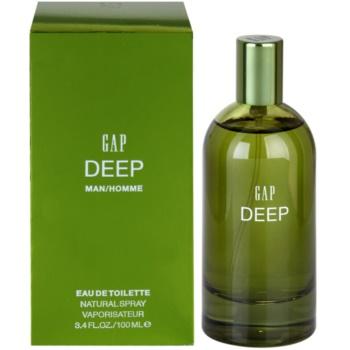 Gap Deep Men Eau de Toilette pentru bărbați
