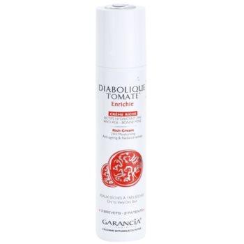 Garancia Diabolique Tomate nährende und feuchtigkeitsspendende Creme für trockene bis sehr trockene Haut