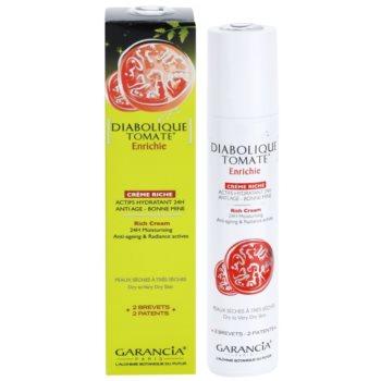 Garancia Diabolique Tomate nährende und feuchtigkeitsspendende Creme für trockene bis sehr trockene Haut 2