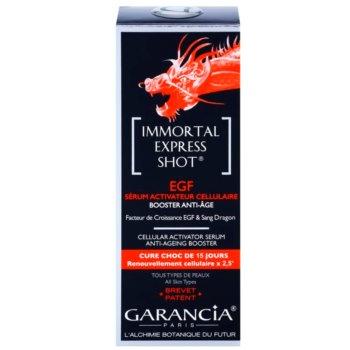 Garancia Immortal Express Shot ser activ impotriva imbatranirii pielii 2