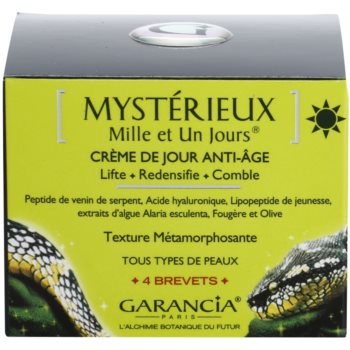 Garancia Mysterious crema de zi cu efect lifting  impotriva imbatranirii pielii 3