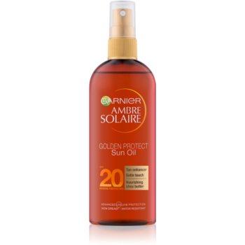 Garnier Ambre Solaire Golden Protect Sonnenöl SPF 20 150 ml