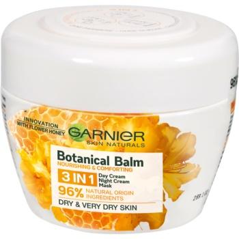 Garnier Botanical balsam nutritiv 3 în 1, cu extracte de miere și de ceară de albine