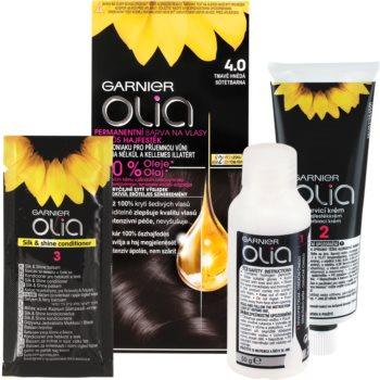 Garnier Olia Haarfarbe Farbton 4.0 Dark Brown