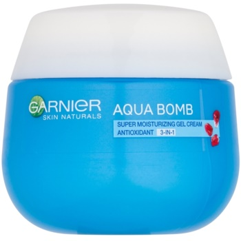 Garnier Skin Naturals Aqua Bomb gel-cremă hidratant și antioxidant 3 în 1