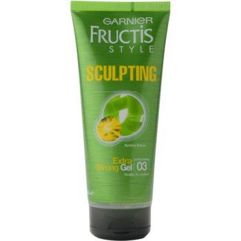 Garnier Fructis Style Sculpting gel de par cu extract de bambus