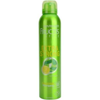 Garnier Fructis Style Extra Strong лак для волосся з екстрактом бамбука