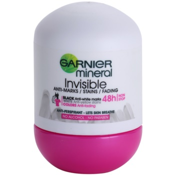 Garnier Mineral Invisible antiperspirant roll-on pentru femei
