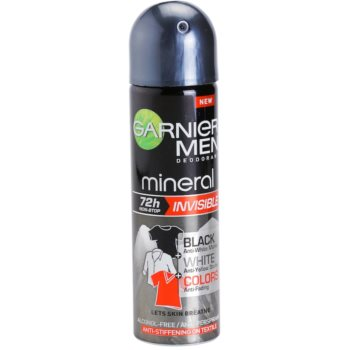 Garnier Men Mineral Invisible Antitranspirant-Spray gegen Schweissflecken