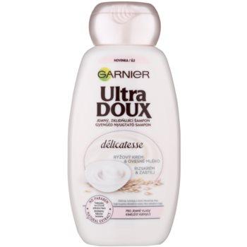 Garnier Ultra Doux pomirjujoči šampon za tanke lase