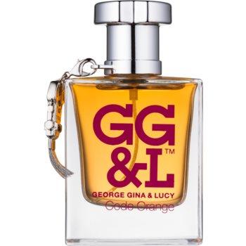 George Gina & Lucy Code Orange eau de toilette pentru femei 50 ml
