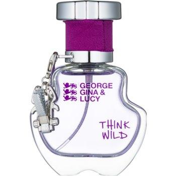 George Gina & Lucy Think Wild eau de toilette pentru femei 30 ml