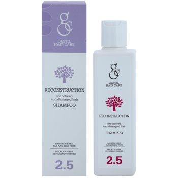 Gestil Reconstruction відновлюючий шампунь для фарбованого та пошкодженого волосся 1