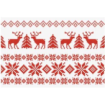 Giftino Felicitare de Crăciun Jumper fără text (A6)