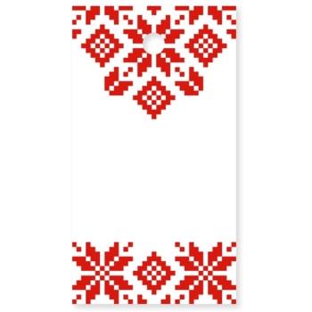 Giftino Etichetă cadou model Crăciun 15 bucăți