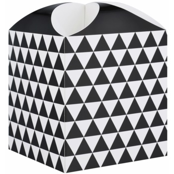 Giftino Wrapping  Cutie cadou stea, model geometric (115 x 115 x 115 mm)