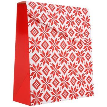 Giftino Pungă cadou Crăciun - mică (100 x 40 x 195 mm)