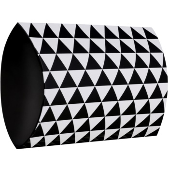 Giftino Wrapping  Cutie cadou model geometric – mică (95 x 40 x 130 mm)