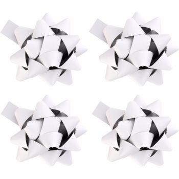 Image of Giftino Gift Decoration Star Matte White, 4pcs