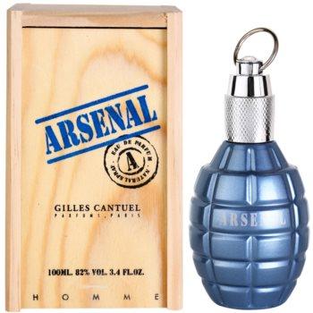 Gilles Cantuel Arsenal Blue Eau de Parfum pentru bărbați