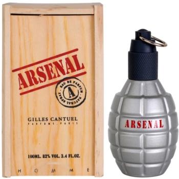 Fotografie Gilles Cantuel Arsenal Grey parfemovaná voda pro muže 100 ml