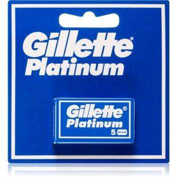 Gillette Platinum lame de rezerva