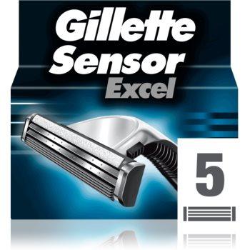 Gillette Sensor Excel náhradní břity pro muže 5 ks