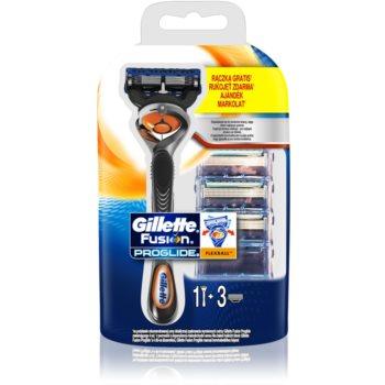 Gillette Fusion Proglide holicí strojek + náhradní břity 3 ks