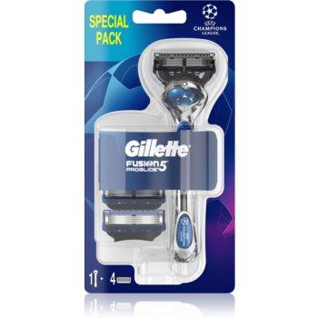 Gillette Fusion5 Proglide Aparat de ras + rezervă lame