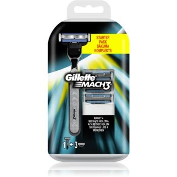 Gillette Mach 3 holicí strojek + náhradní břity 3 ks