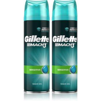 Gillette Mach3 Sensitive gel de ras cu efect calmant pentru barbati imagine produs