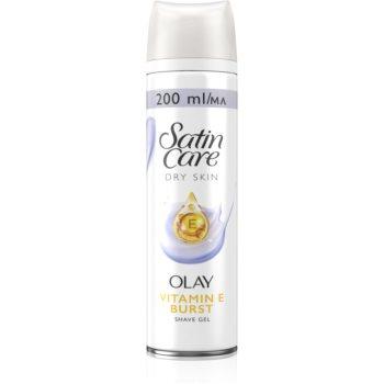 Gillette Satin Care Olay Violet Swirl gel pentru bãrbierit pentru femei imagine produs