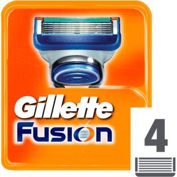 Gillette Fusion náhradní břity 4 Ks