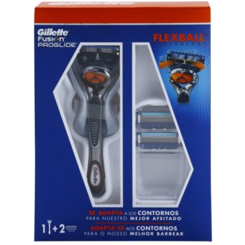 Gillette Fusion Proglide Flexball maszynka do golenia + głowica zapasowa 2 szt.