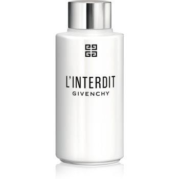 Givenchy L'Interdit ulei de dus pentru femei 200 ml