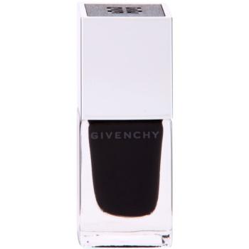 Givenchy Le Vernis vysoce krycí lak na nehty odstín 22 Noir Satin 10 ml