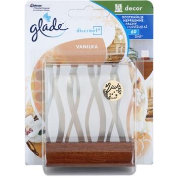 Glade Discreet Decor purificador de ar  + suporte Vanilla