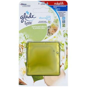 Glade Discreet Refill refil 8 g Santal Wood & Jasmine from Bali