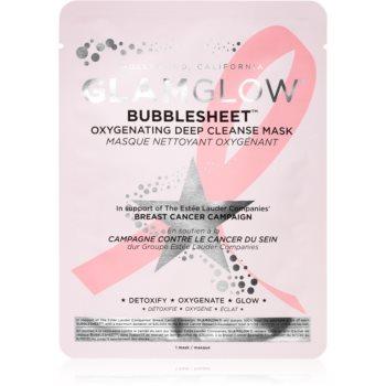 Glamglow Bubblesheet mască textilă purificatoare, cu cărbune activ pentru o piele mai luminoasa imagine
