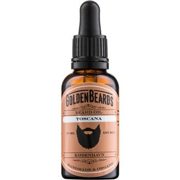 Golden Beards Toscana ulei pentru barba