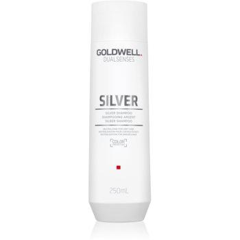 Goldwell Dualsenses Silver șampon neutralizant argintiu pentru părul blond şi gri poza noua