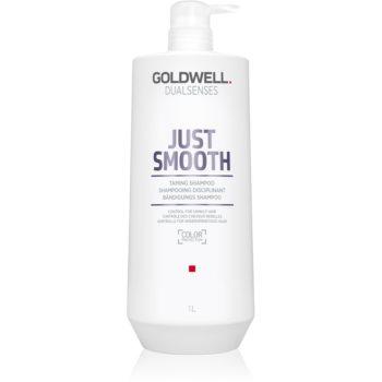 Goldwell Dualsenses Just Smooth uhlazující šampon pro nepoddajné vlasy 1000 ml