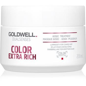 Goldwell Dualsenses Color Extra Rich masca pentru regenerare pentru par aspru si vopsit imagine