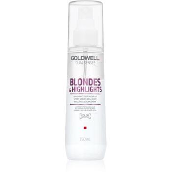 Goldwell Dualsenses Blondes & Highlights Spray ser fãrã clãtire pentru parul blond cu suvite imagine produs